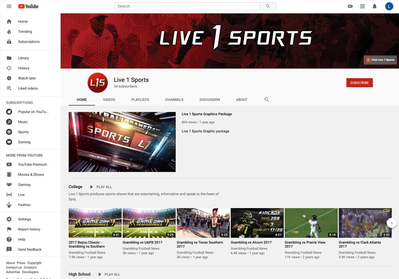 Portfolio-Live_1_Sports-YouTube